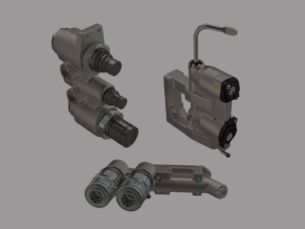 Picture Hydraulic Quick Coupler
